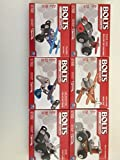 Bolts Models (set of six different styles) from the makers of Meccano!
