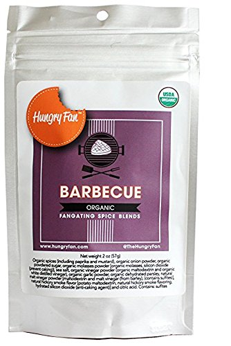Hungry Fan Barbecue Spice Blend Organic for Tailgating
