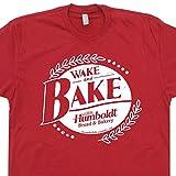 Wake and Bake Marijuana T Shirt