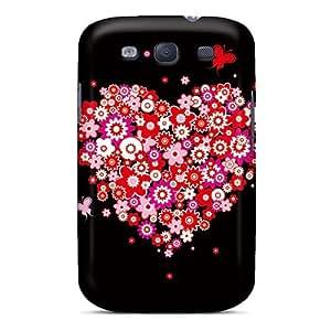 Premium Durable Heart Fashion Tpu Galaxy S3 Protective Case Cover