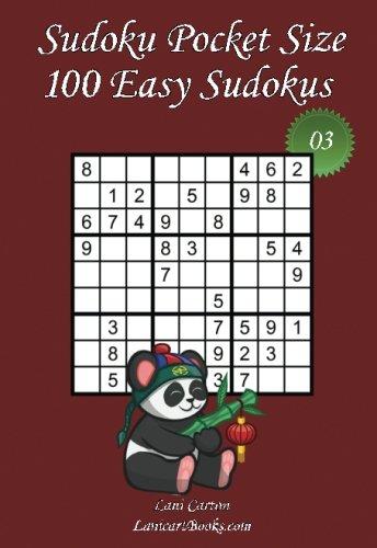"Sudoku Pocket Size - Easy Level - N°3: 100 Easy Sudoku Puzzles – to take everywhere – Pocket Size (4""x6"") (Volume 3) (Take Sudoku)"