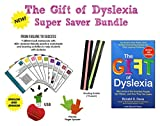 The Gift of Dyslexia by Ronald D. Davis + Dyslexia Brain Games USB + Reading Strips | Easy Bundle | Revised and Expanded Edition | Why Some of the Smartest People Can't Read and How They Can Learn