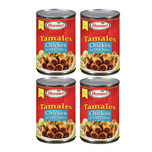 (Hormel Chicken Tamales in Chili Sauce, 15 oz. (Pack of 4))