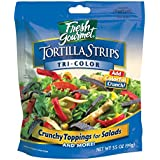 Fresh Gourmet Tortilla Strips, Tri- Color, 3.5 Ounce (Pack of 9)