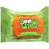 Boogie Wipes Gentle Saline Wipes for Stuffy Noses, Fresh Scent 30 ea(Pack of 3)