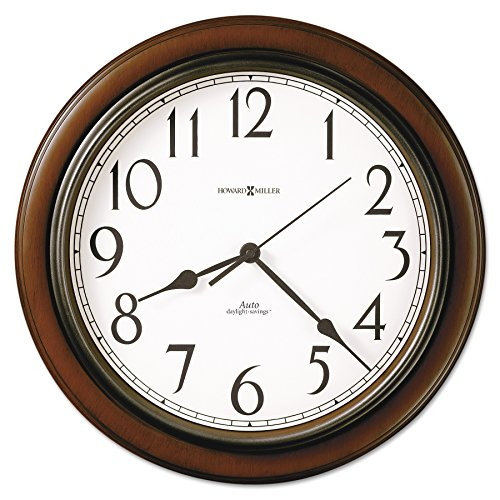 (Talon Wall Clock, 15-1/4in, Cherry)