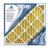 15x20x1 Pleated Air Filter MERV 11 - Highest Quality - 6 Pack - Actual Size: 14 ½ X 19 ½ X ¾