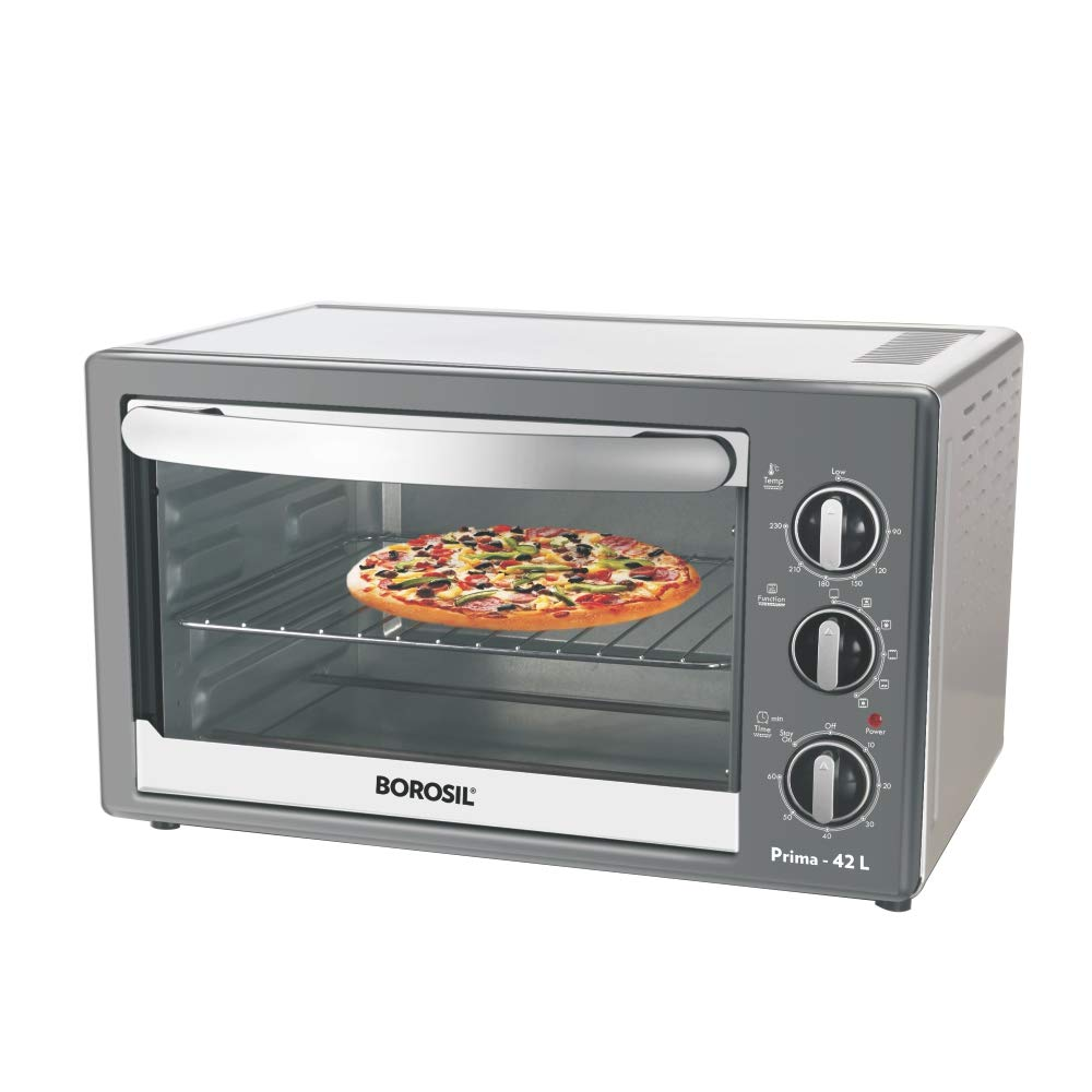 Borosil Prima 42 L OTG, with Motorised Rotisserie and Convection
