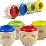 BrawljRORty Toys, Children Wooden Magic Kaleidoscope Learning Puzzle Educational Toy Xmas Gift