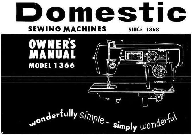 Descargar Pdf-File Singer W1366 Máquina de coser: Amazon.es: Hogar