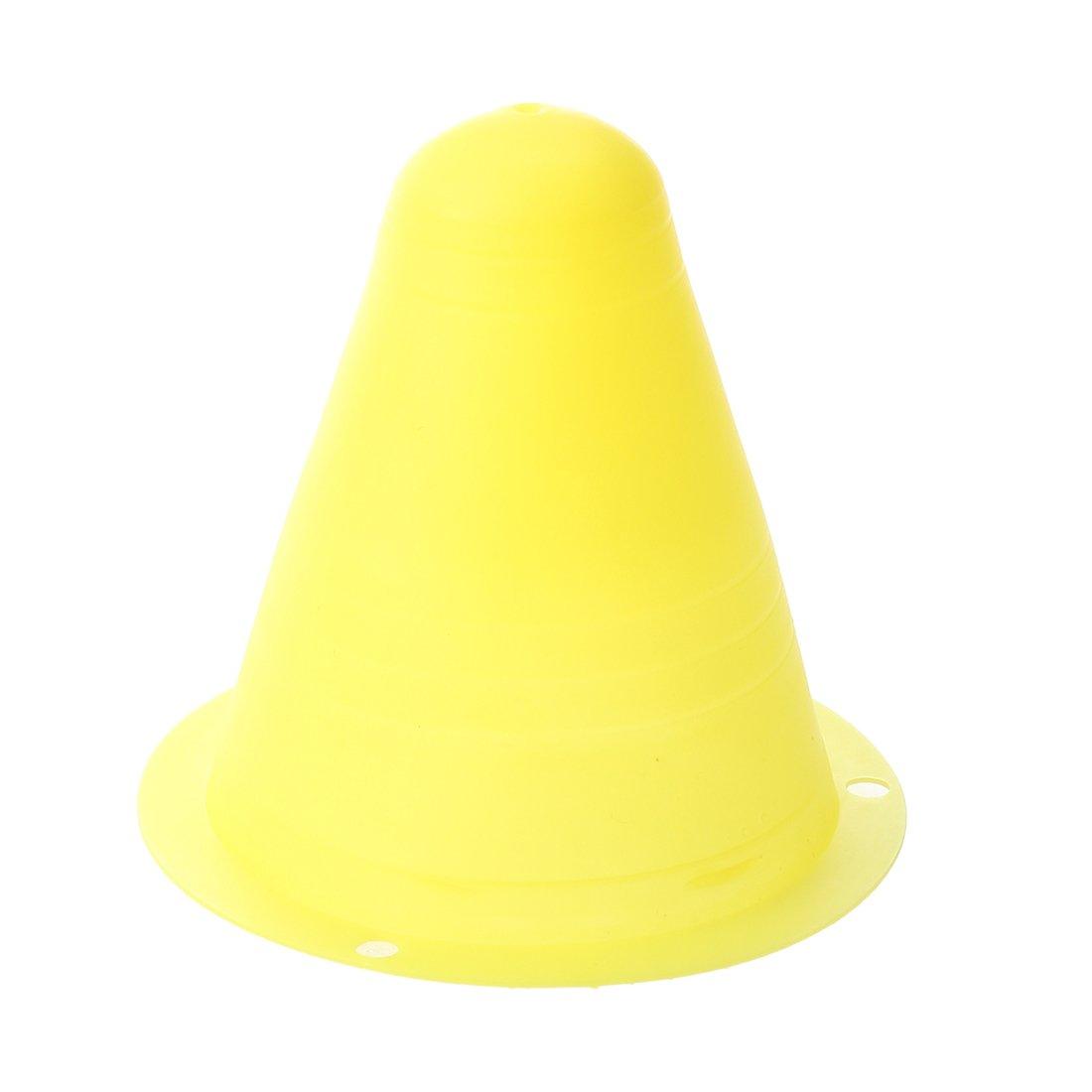 R 5Pcs PVC Couleurs vives Cones de slalom pour le slalom Cone Patinage Vert citron TOOGOO