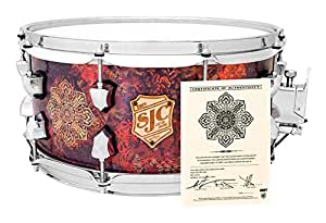 "SJC Custom Drums OBEY Frank Zummo Limited Edition Snare Drum - 6.5"" x 14"""