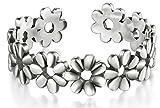 BORUO 925 Sterling Silver Toe Ring, Daisy Flower