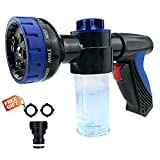 Malocaos Garden Hose Nozzle Foam Sprayer High Pressure Adjustable...