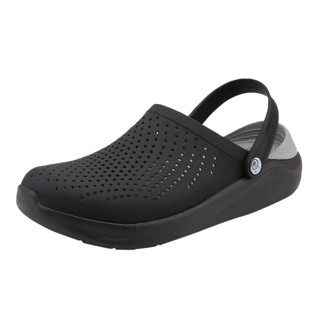 e7c27a8d389b Amazon.com: ANJUNIE Resistant Comfort Slip On Work Shoe Outdoor Mens ...