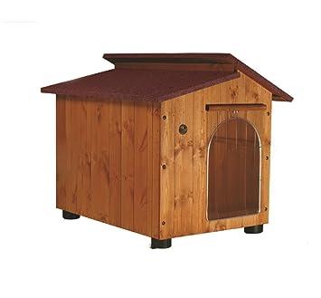 Accesorios para mascotas Caseta para gran danés y similares – Modelo Cumbre con tejado
