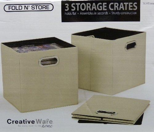 Fold N' Store 3 Storage Crates