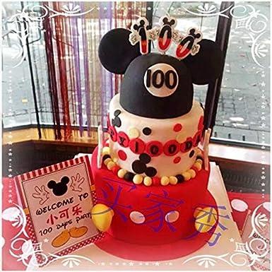Decoración para tartas – número de cumpleaños 0 – 9 velas ...
