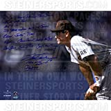 Steve Garvey San Diego Padres Stands Ready 16x20 Story Photo w/1984 NLCS MVP and PadresInsc.