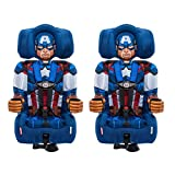Kids Embrace Marvel Avengers Captain America Combination Booster Seat (2 Pack)