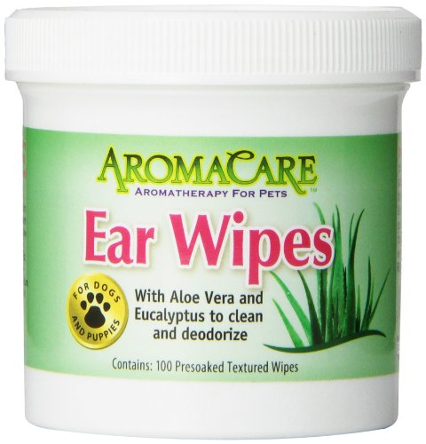 PPP Pet Aroma Care 100 Count Ear Wipes (Ear Care Ear Cleaner)