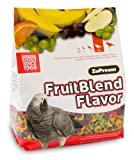 Zupreem FruitBlend Parrot Conure Medium Large 3.5 LB, My Pet Supplies