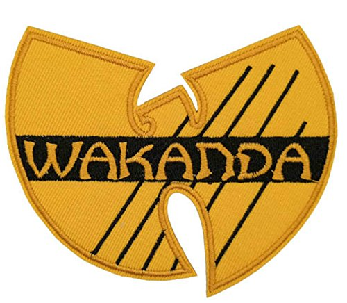 BLACK PANTHER WAKANDA Patch Superhero Comics Logo Character Theme Series New 2018 Marvel Movies Embroidered Sew/Iron on Badge DIY (Heroes And Villains Diy Costumes)
