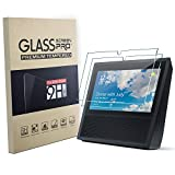 Amazon Echo Show Screen Protector, FEIVO 9H Premium Tempered Glass Screen Protector Film for Amazon Echo Show(2 pack)