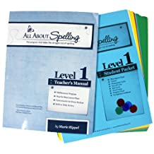 All About Spelling Level 1 - Teacher's Manual & Student Materials Packet (All About Spelling)