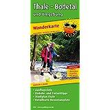 Thale - Bodetal und Umgebung: Wanderkarte mit Ausflugszielen, Einkehr- & Freizeittipps und Stadtplan Thale, wetterfest, reissfest, abwischbar, GPS-genau. 1:25000