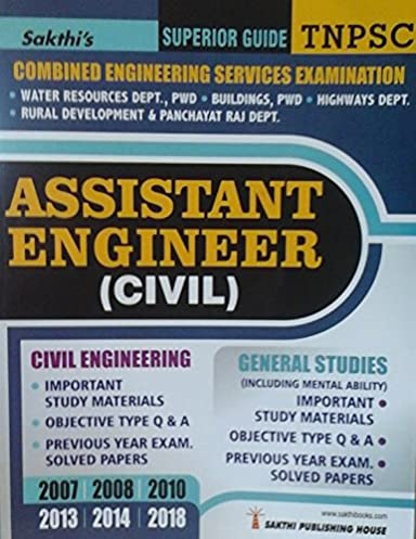 buy tnpsc assistant engineer civil civil engineering general rh amazon in Cicerone Exam Study Guide Social Study Exam Grade 7 Example