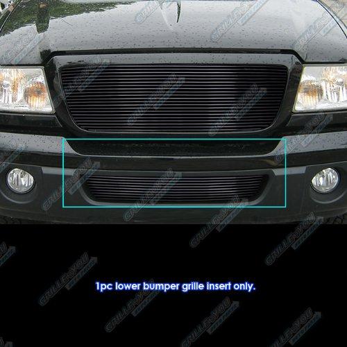 APS Fits 2006-2012 Ford Ranger Black Lower Bumper Billet Grille Grill Insert #N19-H34358F
