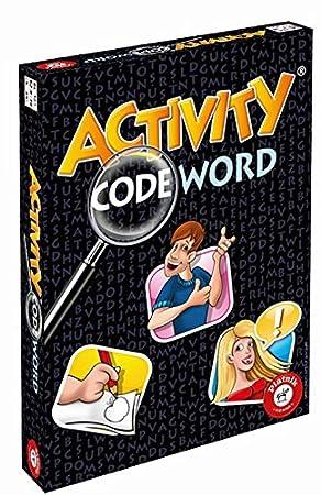 Piatnik Activity Codeword Niños y Adultos Juego de Mesa de ...