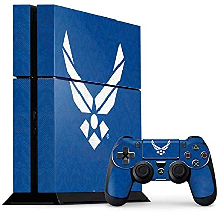 41587acfbb8 US Air Force PS4 Console and Controller Bundle Skin - U.S. Air Force Logo  Blue