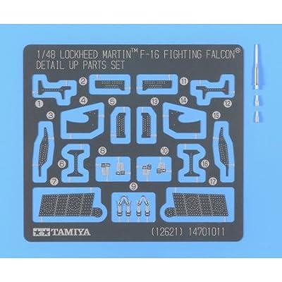 1/48 Lockheed F-16 Detail Parts by Tamiya