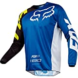 Fox 180 Race LS Youth Jersey - Royal, Medium / Long Sleeved Sleeve Tee T Shirt Top Torso Bikewear Wear Gear Kit Children Child Kid Junior Boy Girl Youngster Young Age School Unisex Bicycle Cycling Cycle Biking Bike Riding Ride Racing Race MTB Mountain Off Road Street Urban Motocross MotoX Moto X MX Upper Body Clothing Clothes Apparel Attire Sport Sportive Outdoor Exercise BMX Scooter Scoot Dirt Jump Enduro Trail Extreme Downhill Freeride Cross Country DH FR XC