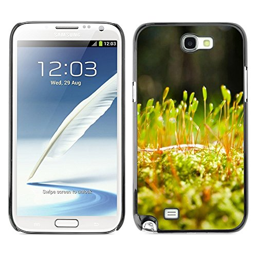 Soft Silicone Rubber Case Hard Cover Protective Accessory Compatible with SAMSUNG GALAXY NOTE 2 & N7100 - Plant Nature Forrest Flower 54