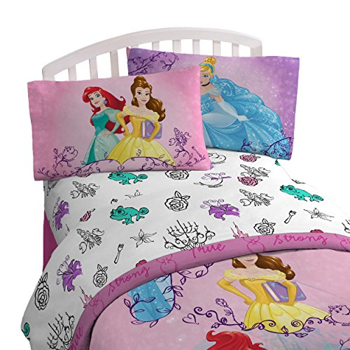 Disney Princess 'Friendship Adventures' 5 Piece Full Bed In A Bag