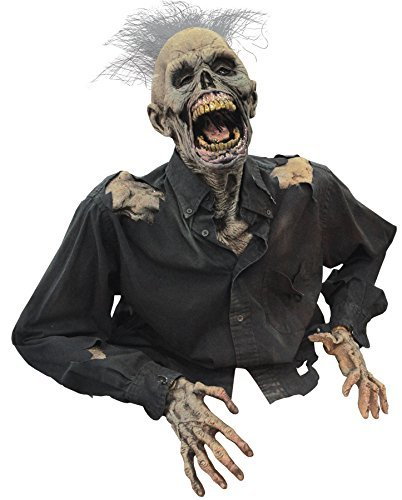 Death Rising Animated Corpse Haunted House Halloween Prop Yard Distortions Decor by Distortions - Death Rising Animated Prop