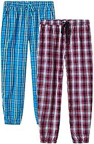 YIRUIYA Womens Pajama Pant Plaid Pajama/Louge Pants Sleepwear Pajama Bottoms with Pockets