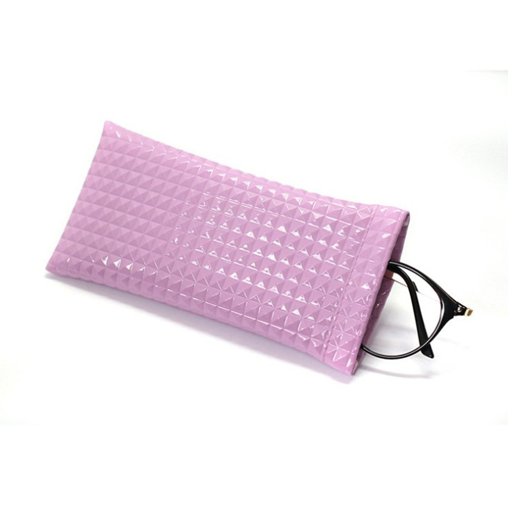 Women Men Scratch-proof Sunglasses Bag Waterproof Eyeglass Pouch Sack