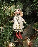 Department 56 Krinkles Star Head Girl Mini Caroler Christmas Ornament #85410