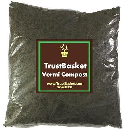TrustBasket Premium Completely Decomposed and Enriched Vermi compost 5 Kg
