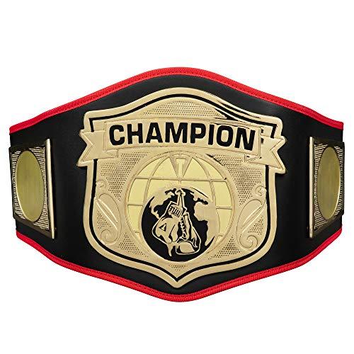 (Title Boxing Universe Champion Title Belt, Black)