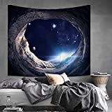 House Decor Wall Tapestry Galaxy Tapestry Sky Wall Hanging Tapestry Beach Tapestry Indian Wall Decor Mandala Sofa Cover for Outdoor & Indoor Home Decor (59.1'' × 51.2'')