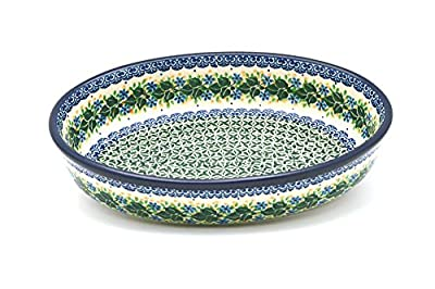 Polish Pottery Baker - Oval - Medium - Ivy Trail