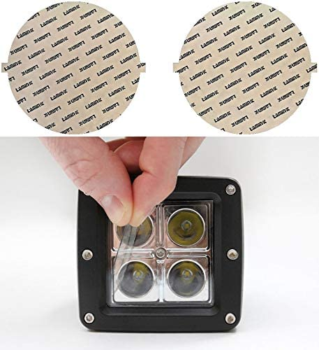 Lamin-x 7 Clear Round Light Covers