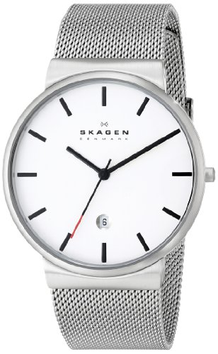 Skagen Men's SKW6052 Ancher Stainless Steel Watch with Mesh Band