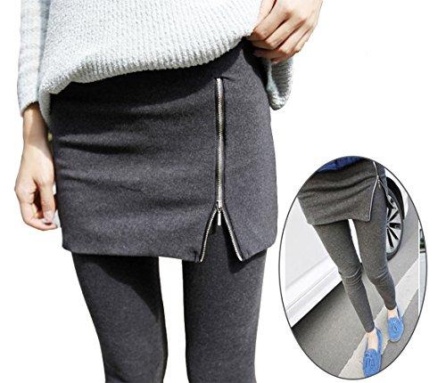 lxbin Women's Winter Warm Fashion Pure Cotton Culottes Side