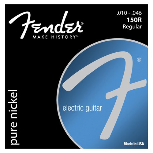 Fender 150R Pure Nickel Wound .010-.046 Electric Guitar Strings